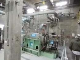 Dentro la centrale nucleare del Garigliano, a 360 gradi