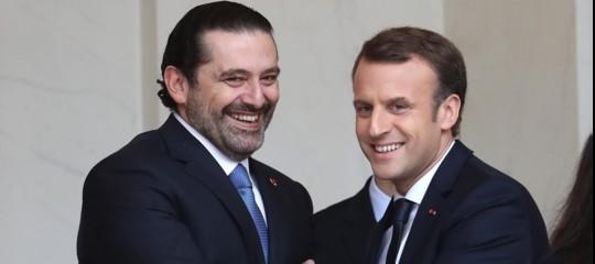 Haririvola a Parigi daMacron. A che punto è la crisi in Libano
