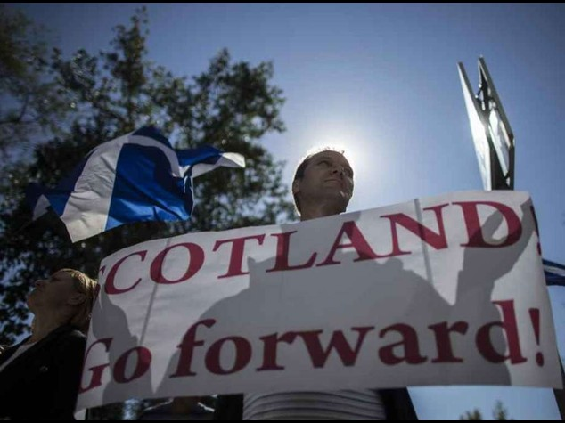 Referendum Scozia: alta affluenza, unionisti in vantaggio -  VIDEO