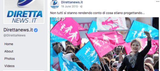 Facebook blocca le pagine di alcuni siti di news italiani dopo un'inchiesta diBuzzfeed