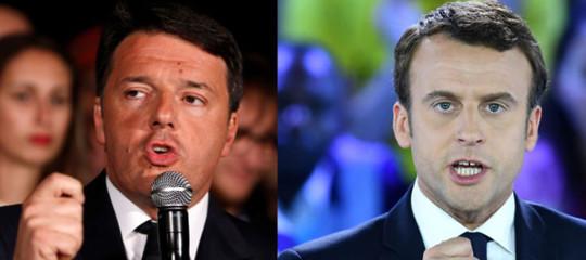 Cosa si sono detti Renzi e Macron a Parigi