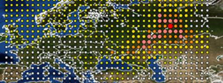 Rutenio-106 in Europa secondo una rilevazione dell'Istituto francese Irsn