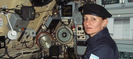 sottomarino scomparso argentina prima donna