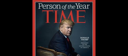 Una telefonata di Time aTrumpè diventata una parodia virale. Piena di star