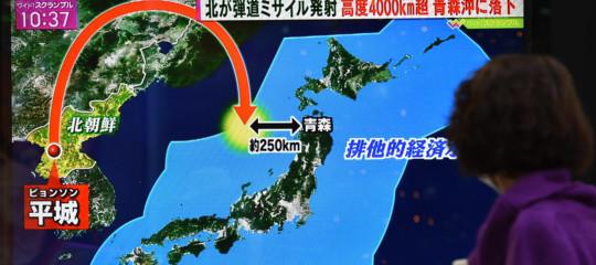 Il nuovo missile nordcoreano Hwasong-15, può colpire tutti gli Usa