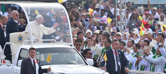 Perché il Papa non ha nominato iRohingya aMyanmar