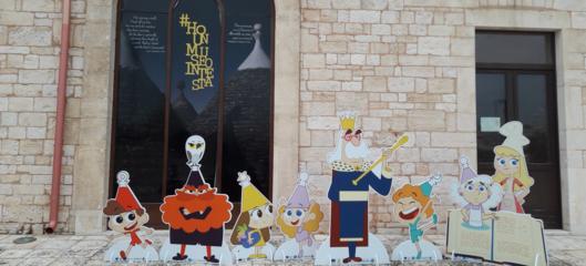 Uncartoonsulla Puglia con Rai, Disney e Fandango per promuovere la dieta mediterranea