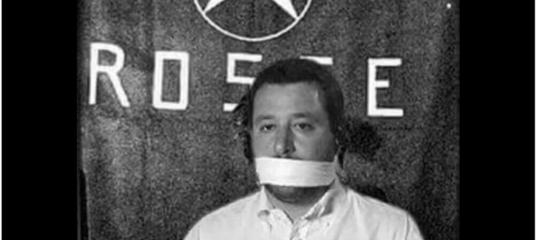 Chi è Vento Ribelle, l'autore del fotomontaggio shock contro Salvini