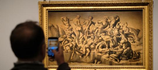 Il divino Michelangelo e il nostro ritardo digitale
