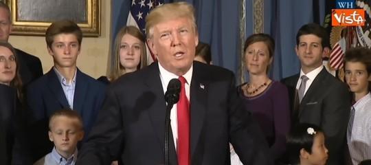 Trump: Gerusalemmeè capitale di Israele, inizia nuovo processo di pace