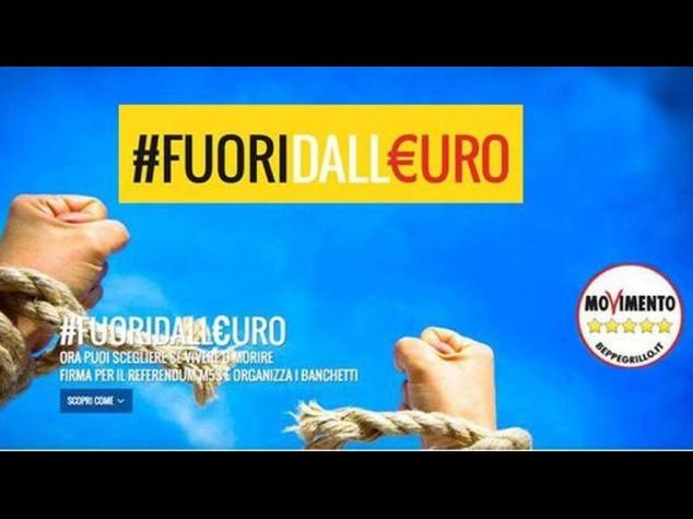 Grillo: referendum anti euro, dal 13 dicembre la raccolta delle firme