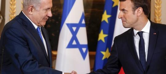 """Qual è il """"gesto coraggioso"""" chiesto da Macron a Netanyahu"""