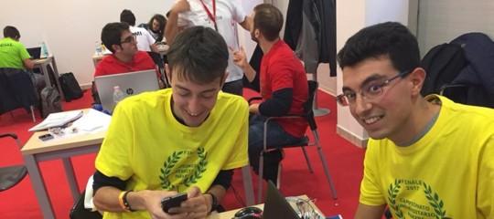 Due studenti di Roma Tresi laureano campioni universitarimakers2017