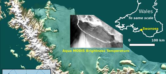 Il vero significato del distacco del grande iceberg in Antartide