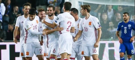 La Spagna rischia di essere esclusa dai Mondiali di Russia