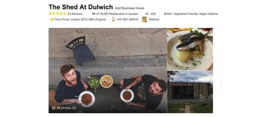"""La storia del """"miglior ristorante di Londra"""". Che non è mai esistito"""