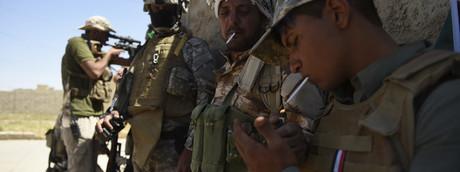 Iraq, un battaglione dell'Unità di mobilitazione popolare (Pmu)