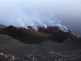 L'eruzione dello Stromboli è uno spettacolo