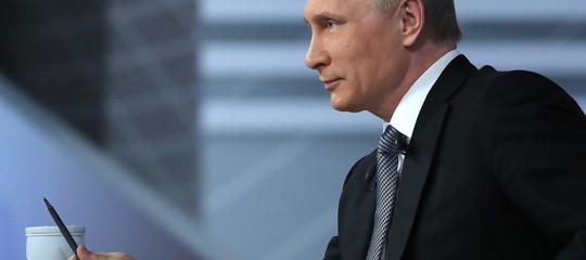 Russia: sventato attacco a San Pietroburgo,Putin ringrazia Trump