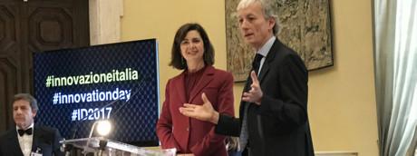 Riccardo Luna con Laura Boldrini