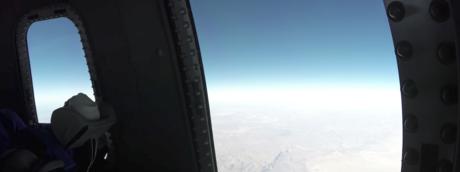 La capsula per vedere la Terra creata da Jeff Bezos per i viaggi spaziali del 2019