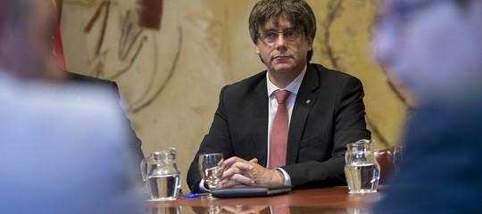 """Catalogna:Puigdemont""""Madrid ha perso,pronto a incontrareRajoy"""""""