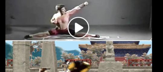 Ricordate il primo MortalKombat? Ecco come venivano create le mosse