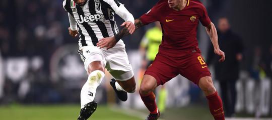 LaJuvebatte la Roma 1-0 nel posticipo di Serie A