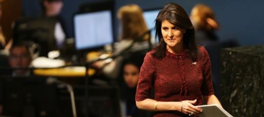 L'ambasciatrice Usa all'Onu sarebbe caduta vittima di una devastante burla