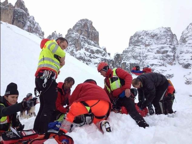 Dramma in Val Fonda: valanga su quattro scialpinisti, un morto e due feriti