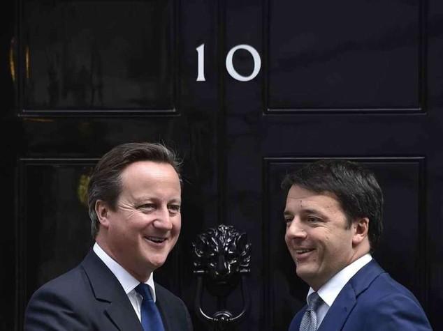 """Renzi: l'Italia guidera' l'Europa """"Con austerity nessun futuro"""""""