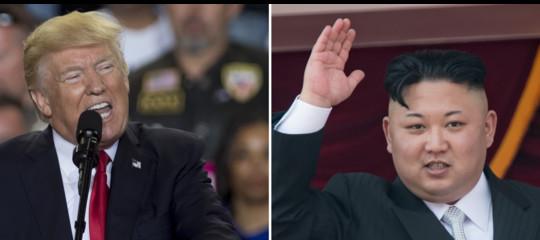 """Trump a Kim: """"Il mio bottone nucleare è più grosso del tuo"""""""