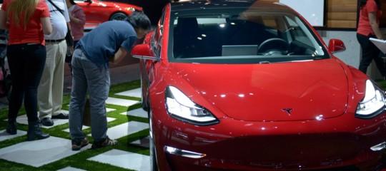 Tesla Model 3 da record: New York-Los Angeles in 50 ore