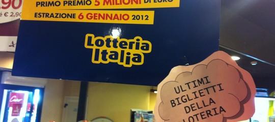 Lotteria Italia, tutti i biglietti vincenti, i 5 milioni vanno ad Anagni
