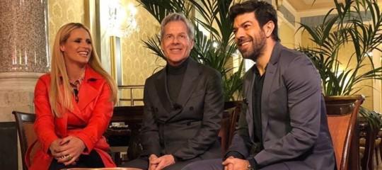 Sanremo: è ufficialeFavino eHunziker con Baglioni