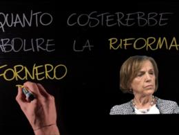 Abolire la 'Fornero' è sostenibile? Fact checking alla lavagna