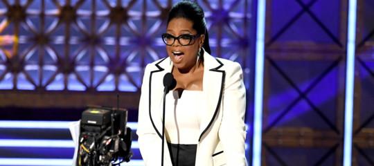 """Trump:""""Batterei Oprah ma tanto non correra'"""". Il leader usa andrà a Davos"""