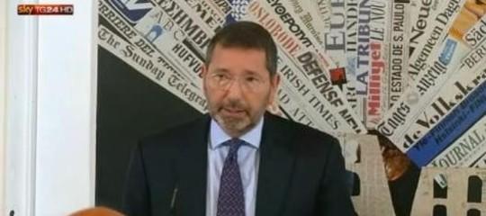Roma: l'ex sindaco Marino condannato a 2 anni per la vicenda scontrini
