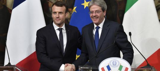 Gentiloni e Macron, patto Italia-Francia sia matrice della rifondazione Ue