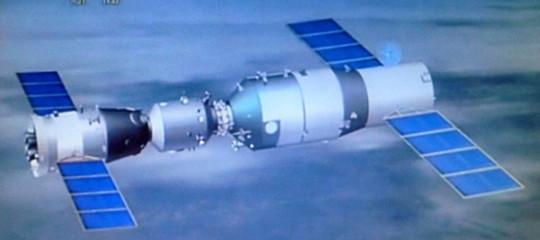 La reale possibilità di essere colpiti da un rottame della navicella spazialeTiamgong-1