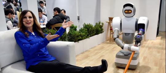 La toilette connessa a Internet e altri improbabili robot visti aLasVegas