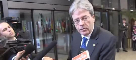 Alitalia,Gentiloni:piùcompetitività; lunedì l'incontro Calenda-commissari