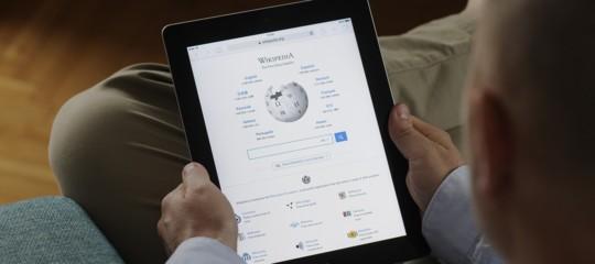 wikipedia come è nata