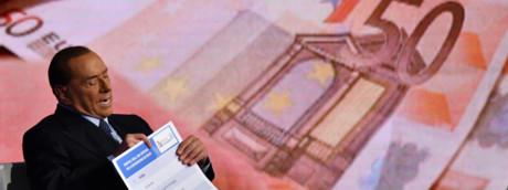 Berlusconi spiega la flat tax ospite in tv