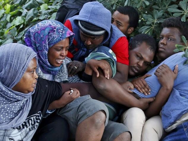 Mattinata tesa a Ventimiglia Immigrati sgombrati, restano 100
