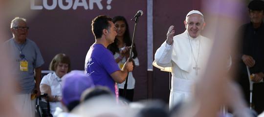 In Cile Francesco predica la speranza con le parole diPabloNeruda