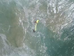 Un drone ha salvato due naufraghi in Australia