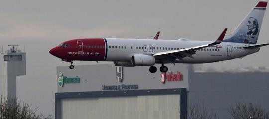 norwegian airlines record velocità transatlantica