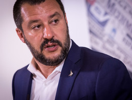 """Salvini esce da PalazzoGrazioli, """"Abbiamo firmato il programma"""""""