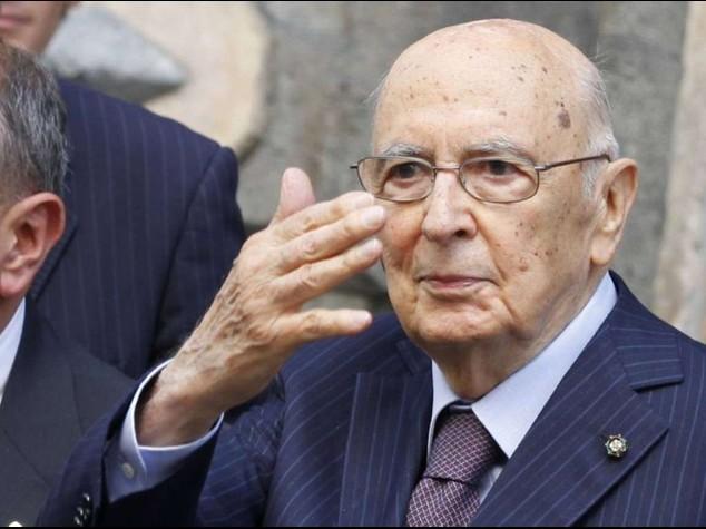 """Napolitano annuncia l'addio """"Imminenti le mie dimissioni"""""""